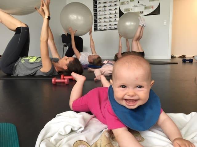 Mor barn pilates