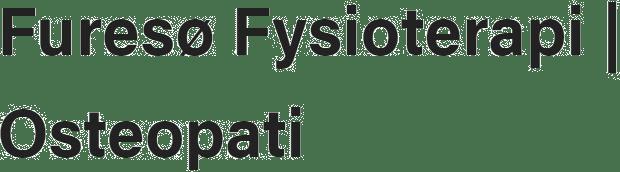 Furesø Fysioterapi | Osteopati